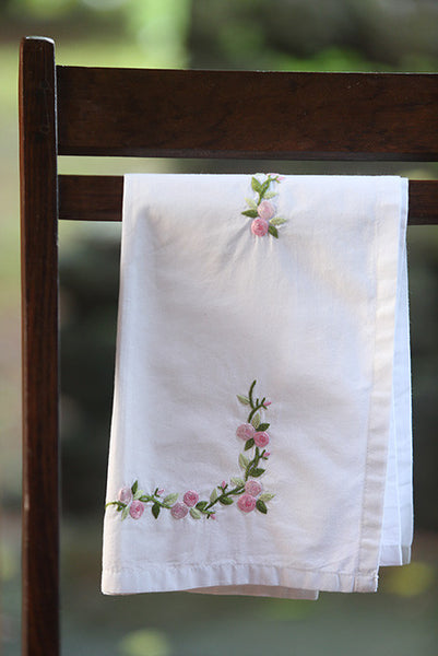 Small Pink Flowers Baby Sheet