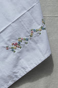 Flowered Vine Cotton Sheet
