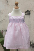 Smocked Dress with Shoulder Straps