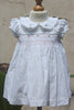 Smocked Dress with Peter Pan Collar