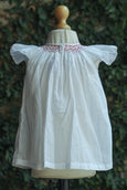 SLEEVELESS BISHOP SMOCK COTTON DRESS