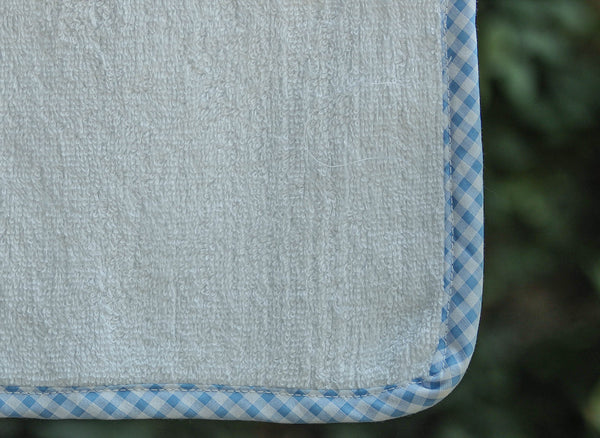 SUPER SOFT GINGHAM WASH TOWEL