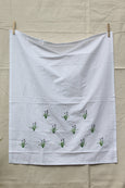 Pyramid of Flowers Cotton Sheet