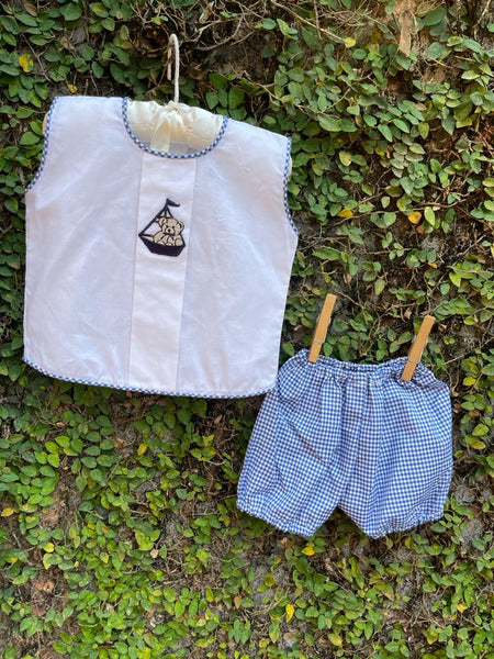 Captain Teddy - Sailor Suit Set with Shorts