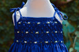 SUMMER FUN SMOCKED YOKE DRESS
