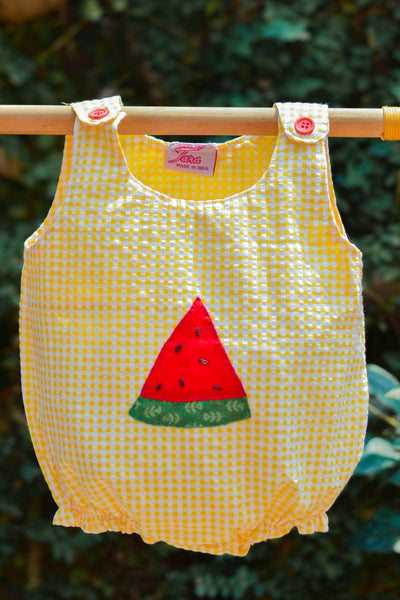 Melony Melon Yellow Rompers