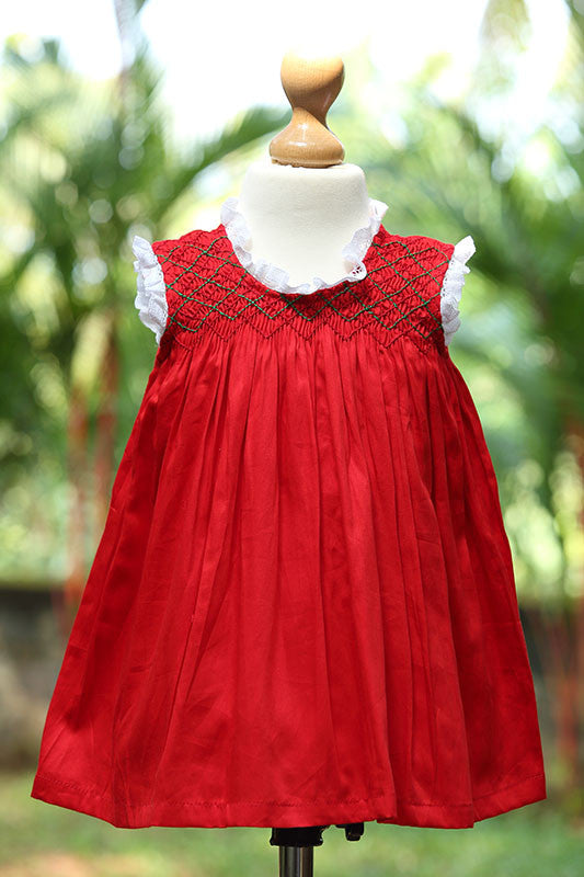 Short Sleeved Pillow Laced Dress