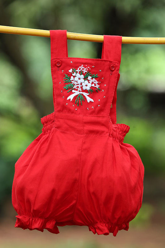 Bouquet Of Flowers Playtime Dungaree Set
