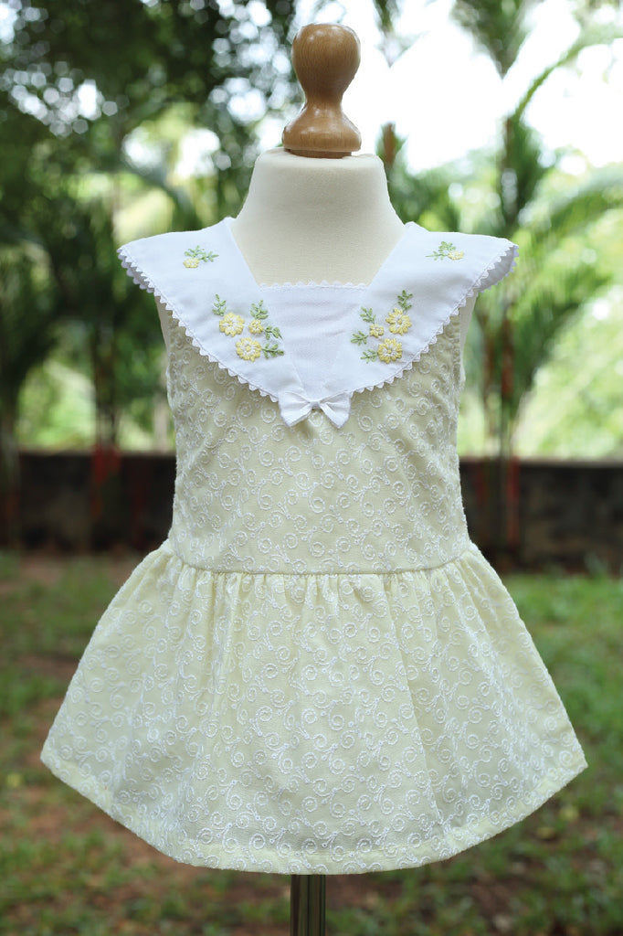 Sailor Collared Hakoba Dress