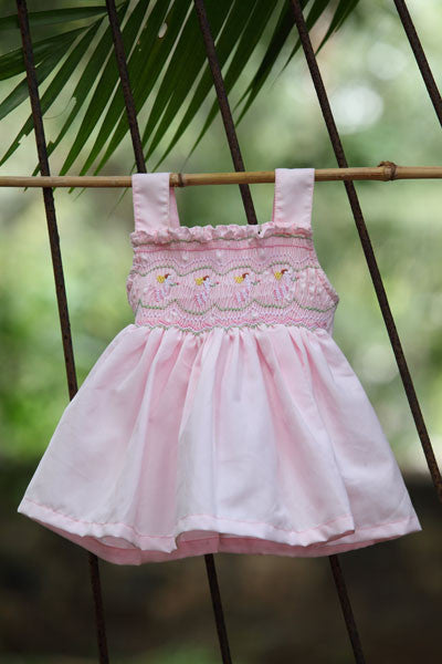 Pretty Pink Cherub Dress