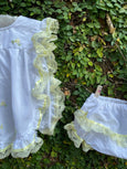 Comfy Pinny Set with Side Ties