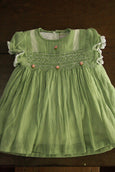 Buy Smocking Cotton Baby Dress Online