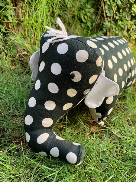 Mr Spotty - Elephant Pillow Toy