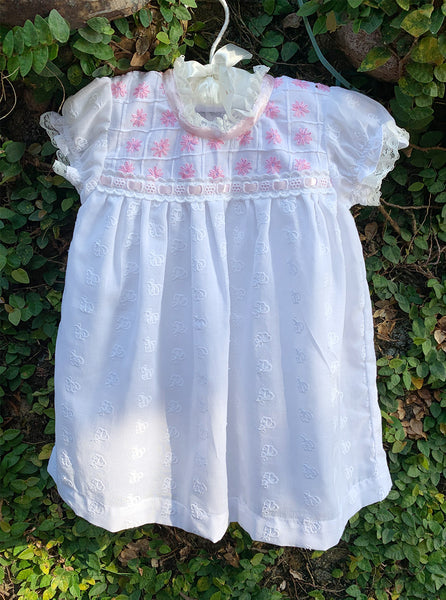 embroidery lace baby dresses