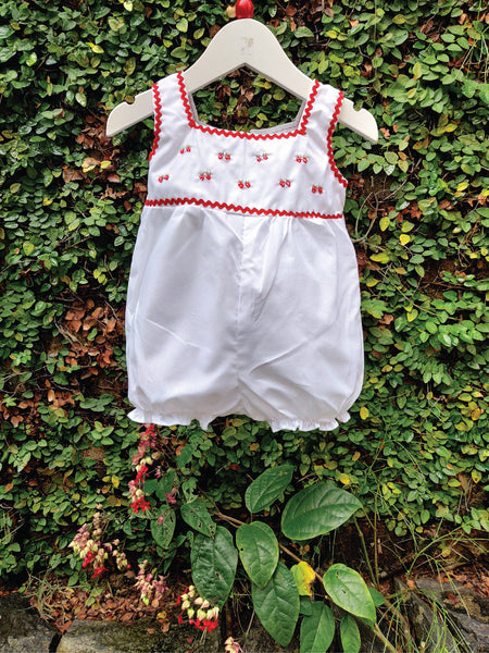 STRAWBERRY DELIGHT BALLOON ROMPER