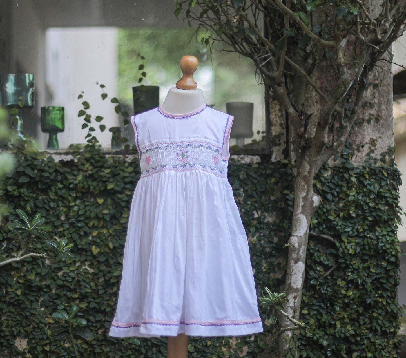 pretty smocked baby dress