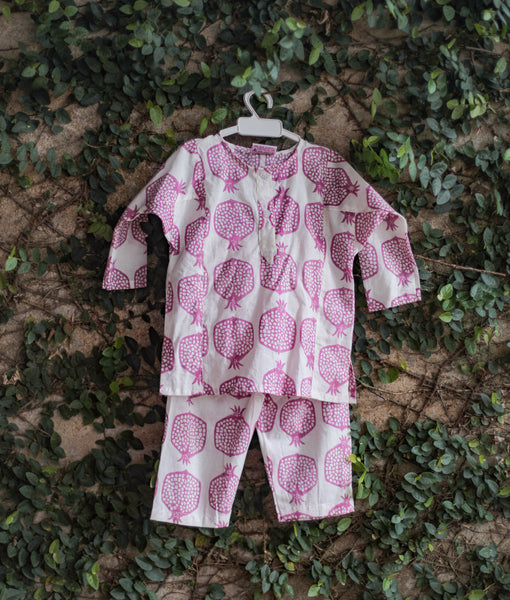 pomegranate kids nightwear