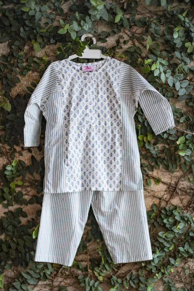 printed kids sleepwear