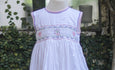 PRETTY BLOSSOMS AND HEARTS SMOCKED DRESS