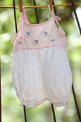 Petite Pink Rompers for Girls