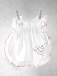 Geranium (White) Frills & Fun Dress Set