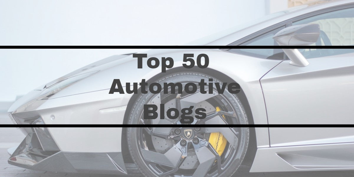 Top 50 automobile blogs