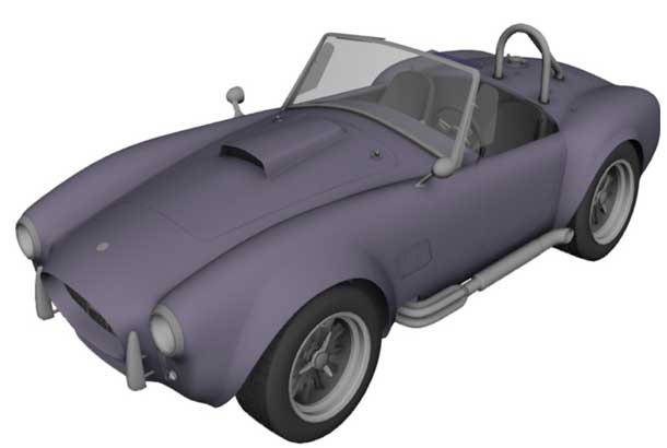 Indoor dust covers for AC COBRA (61-97) by Sahara