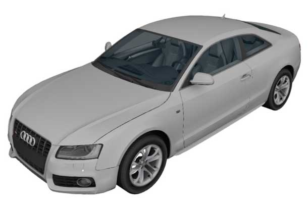 Indoor dust covers for AUDI by Sahara