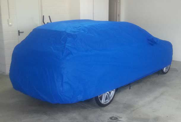 Sahara Indoor dust car covers for SKODA
