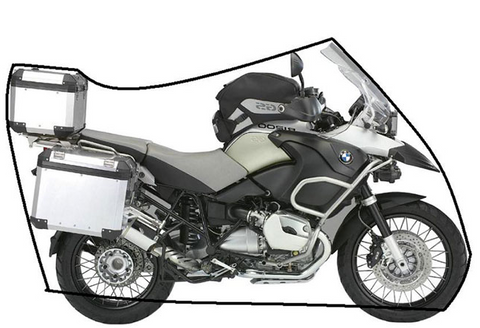 VOYAGER LIGHTWEIGHT MOTORCYCLE COVERS FOR MOTO GUZZI