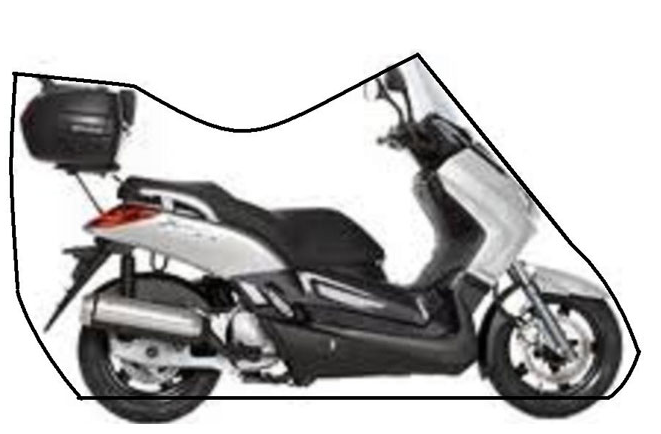 VOYAGER LIGHTWEIGHT MOTORCYCLE COVERS FOR KYMCO