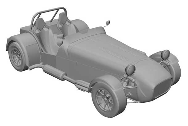 Indoor dust covers for CATERHAM by Sahara