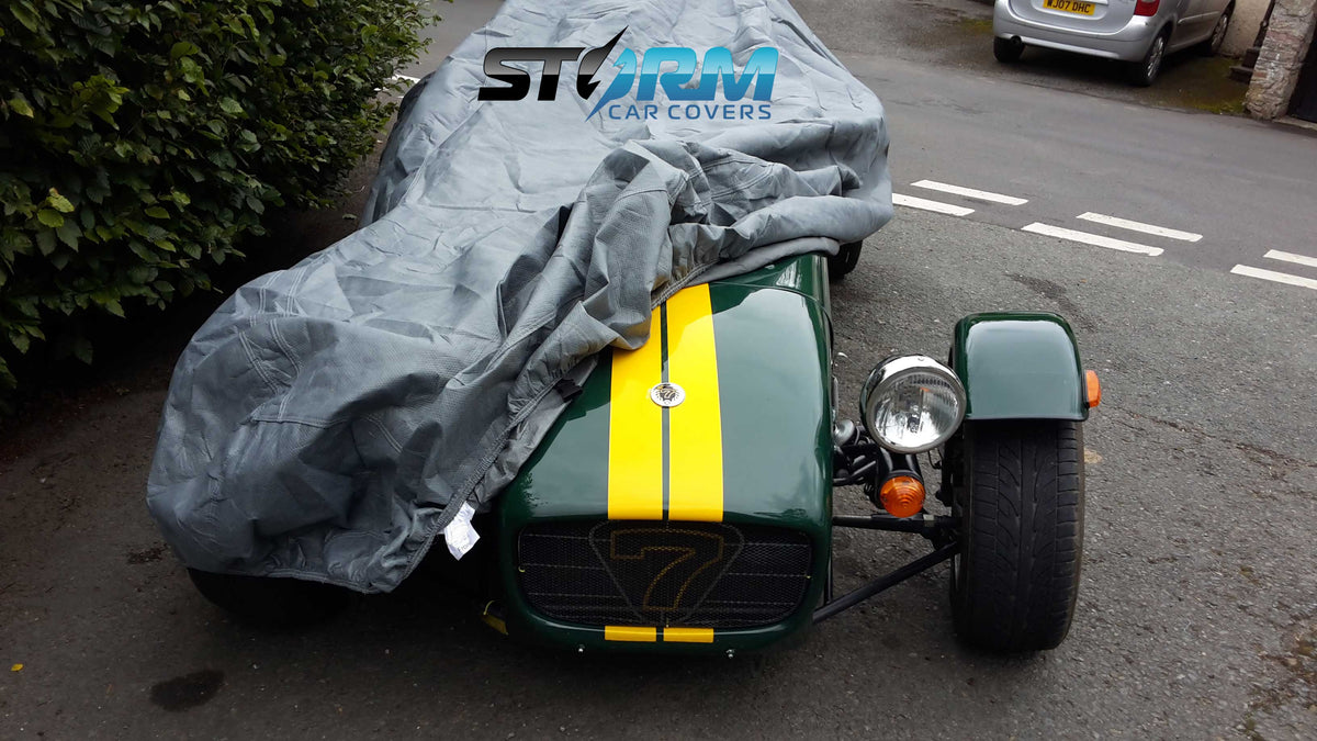 Stormforce outdoor breathable car covers for CATERHAM