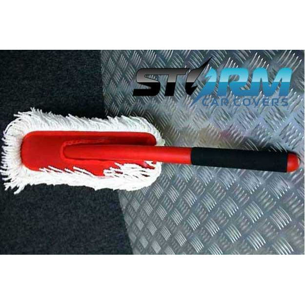 Dust removal brush