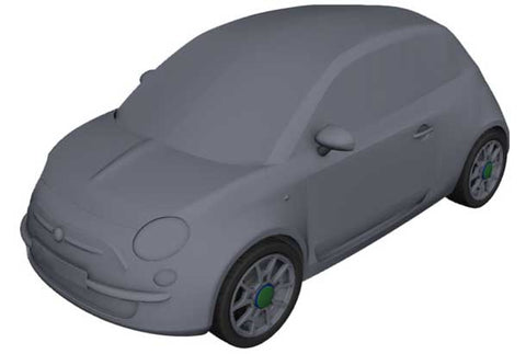 KALAHARI ULTIMATE FLEECE INDOOR CAR COVER FOR FIAT