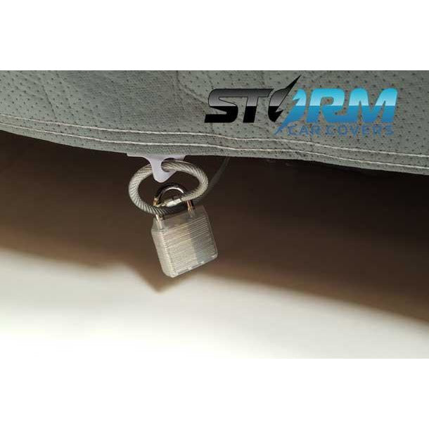 Car cover lock/cable kit
