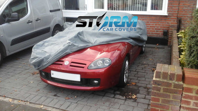 Stormforce outdoor breathable car covers for MG