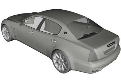 Indoor dust covers for MASERATI by Sahara
