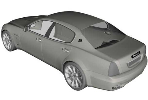 SAHARA INDOOR DUST COVERS FOR MASERATI