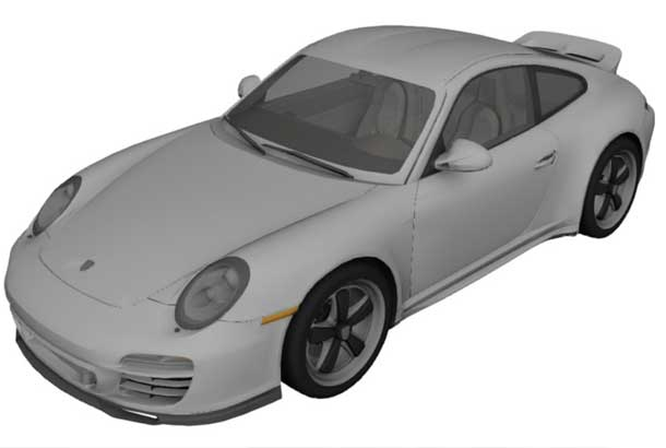 Outdoor bespoke (Teflon coated) waterproof covers for PORSCHE (special order) by Apollo