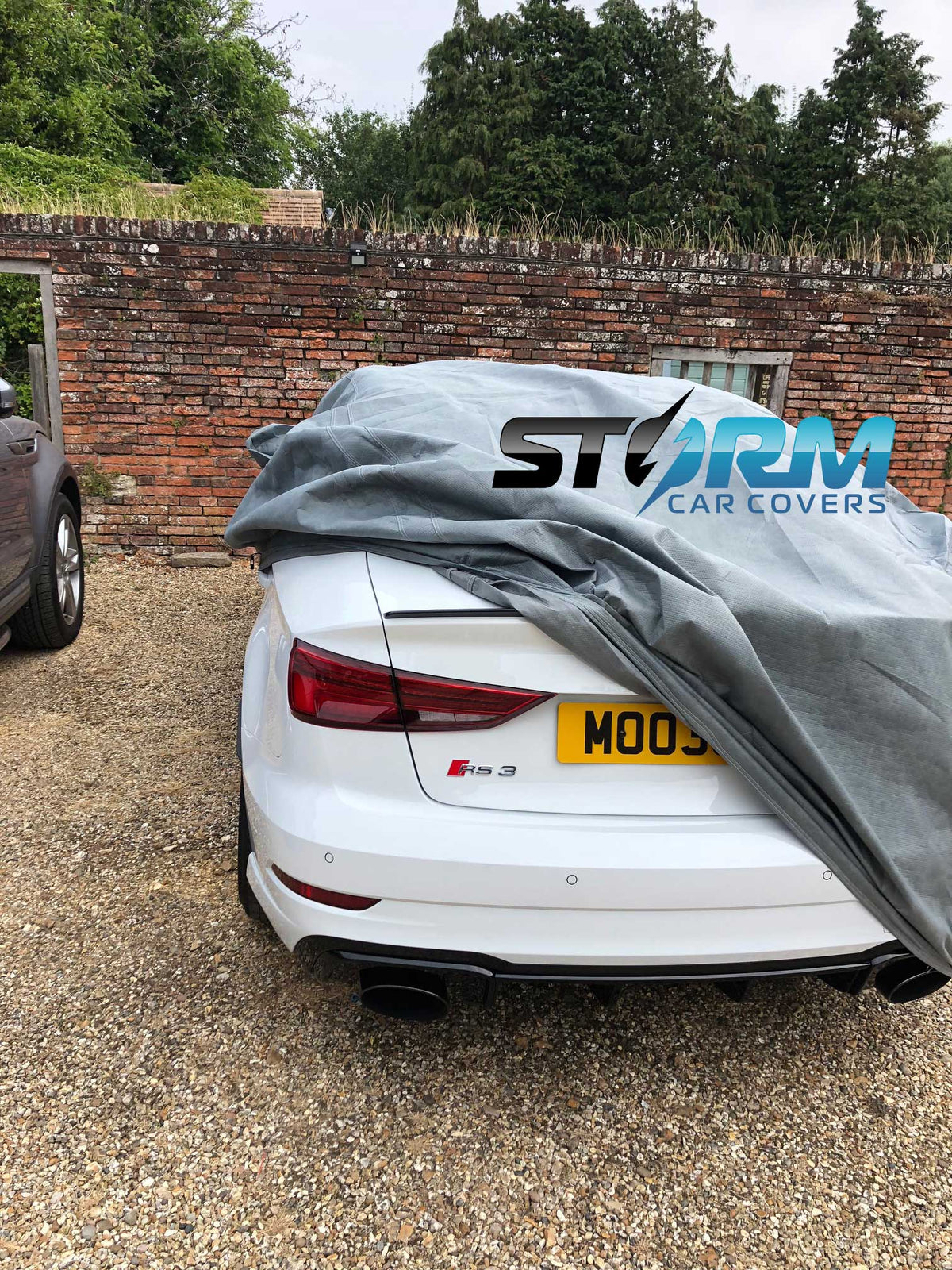 Outdoor breathable covers for AUDI by Stormforce