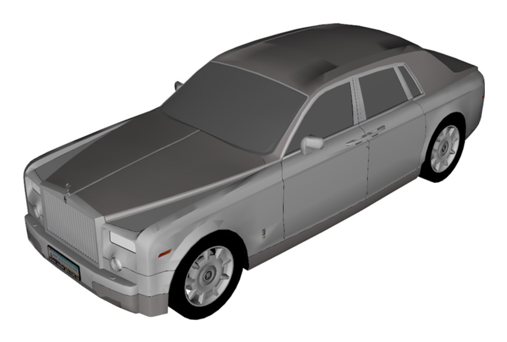 Outdoor bespoke (Teflon coated) waterproof covers for ROLLS ROYCE (Special Order) by Apollo