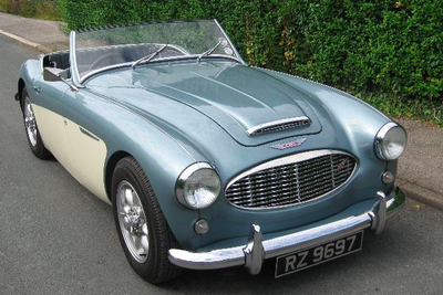 Indoor bespoke fleece covers for AUSTIN HEALEY (Special Order) by Kalahari