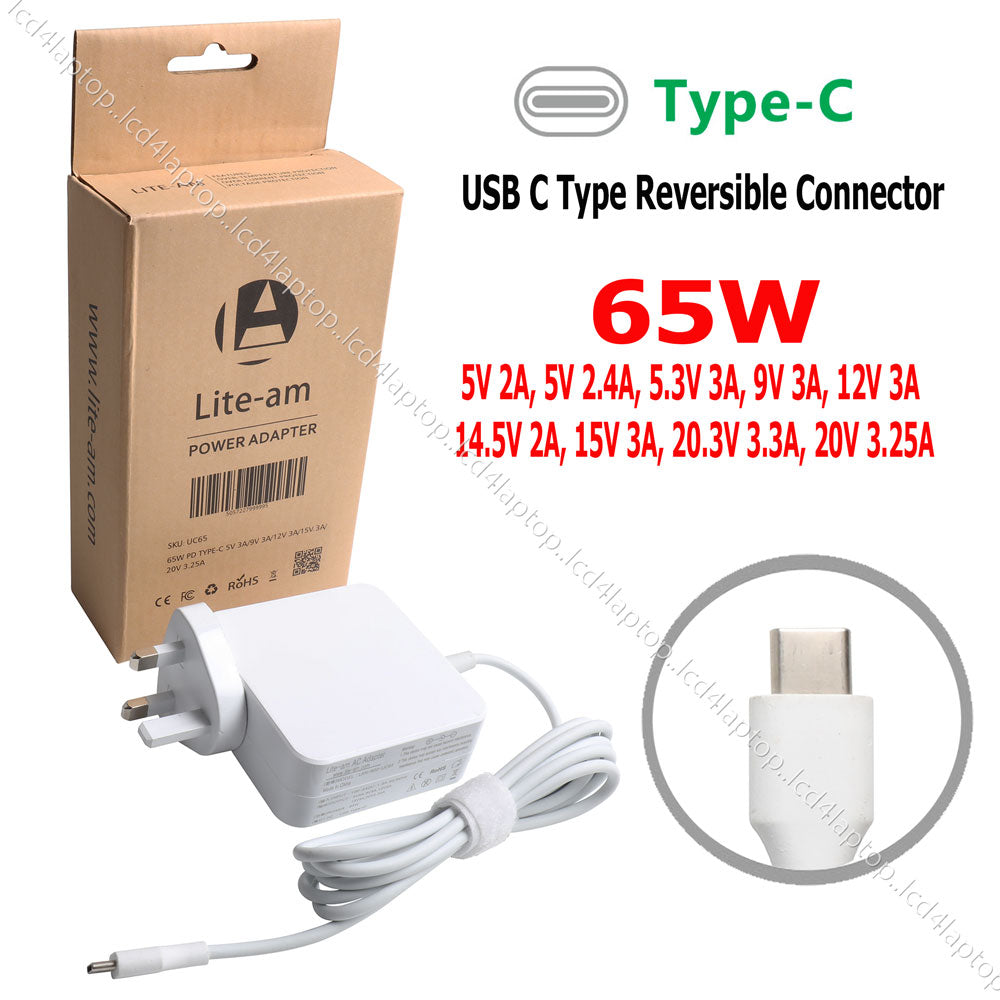 45W USB-C AC Power Adapter Charger For HP Elite x2 815049-001 A045R031L TPN-CA01