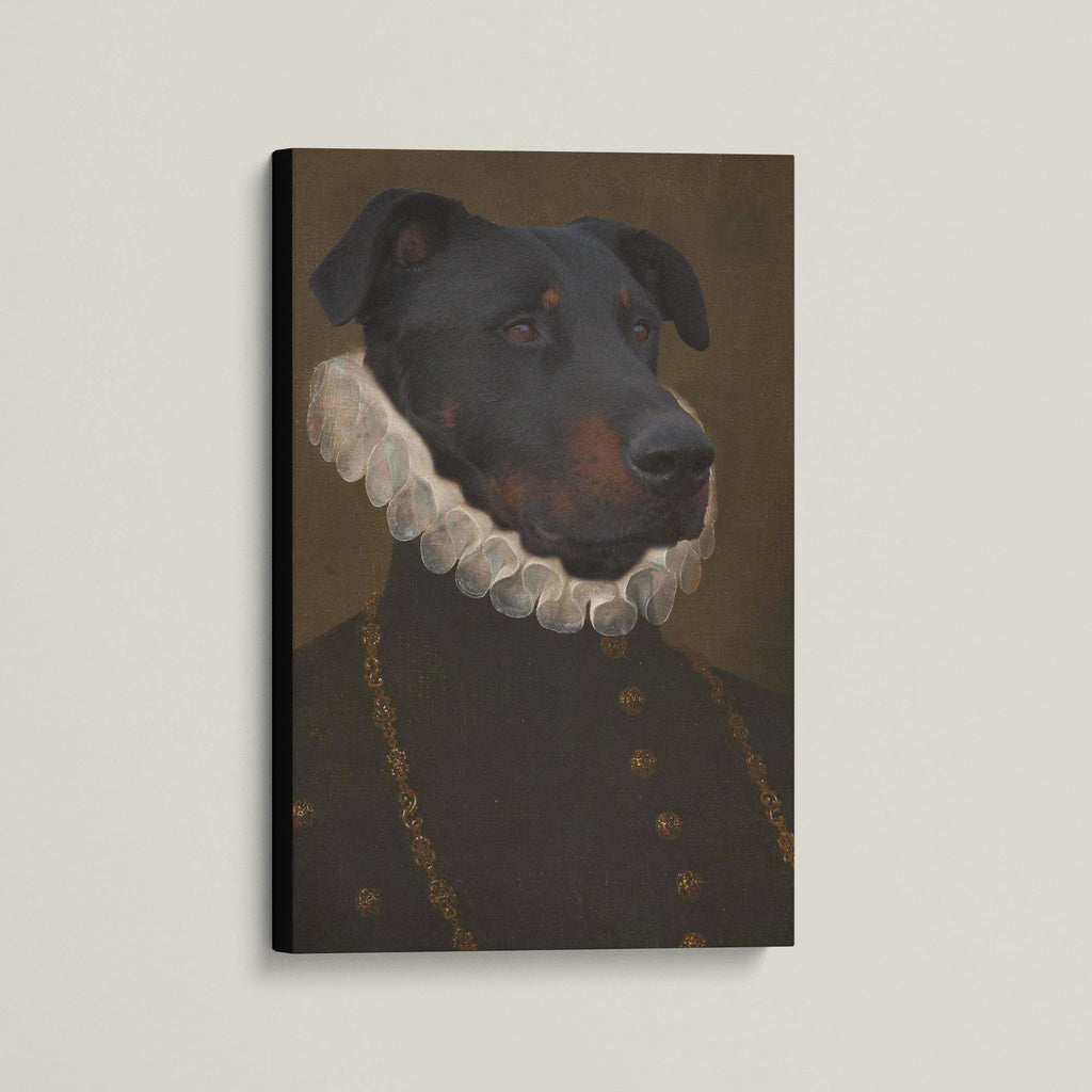 The Monarch - Custom (Your Pet) Canvas Art