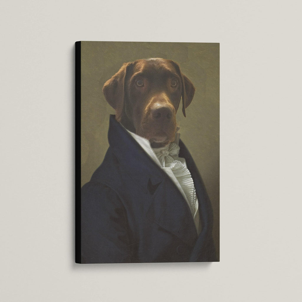 The Governor - Custom (Your Pet) Canvas Art
