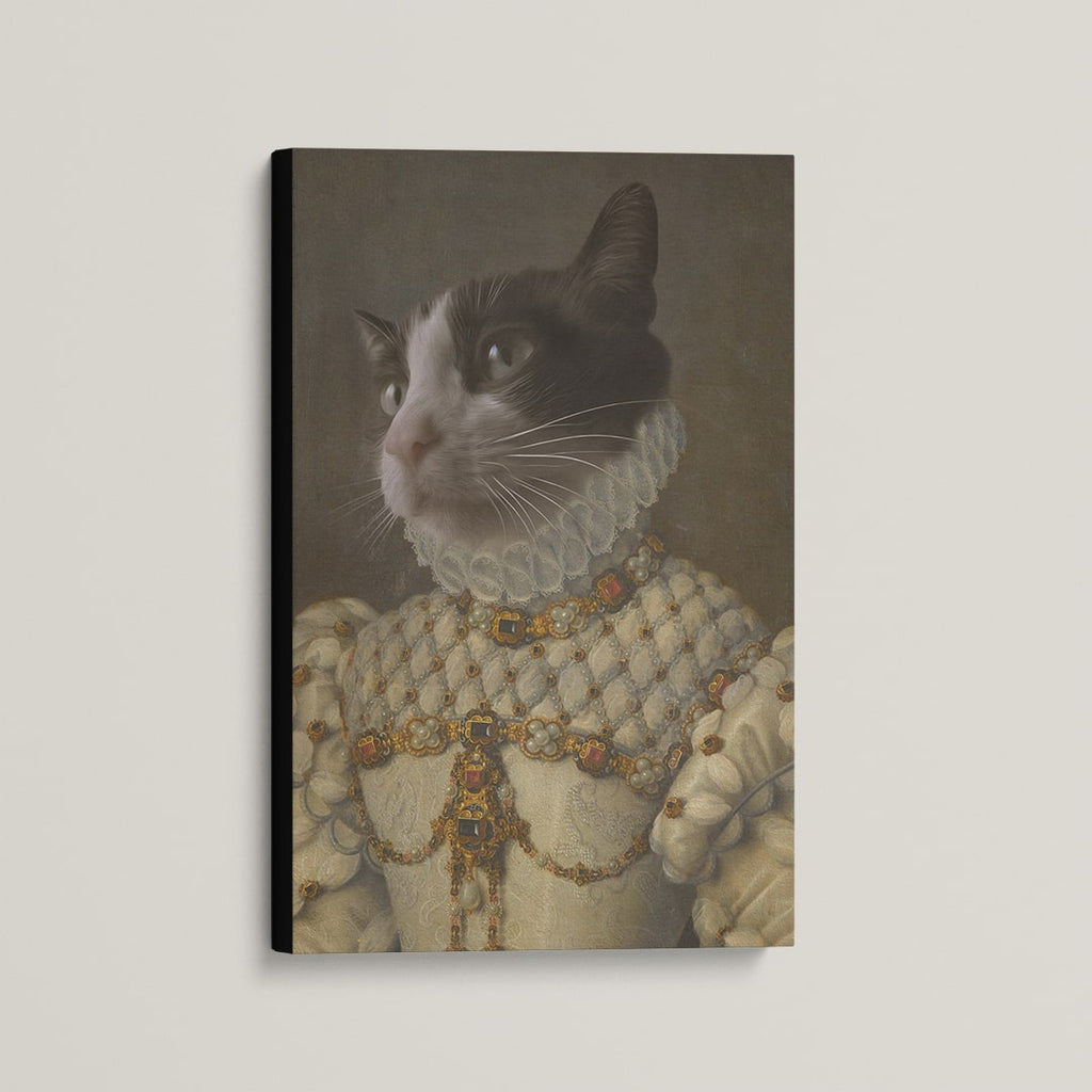 The Aristocrat - Custom (Your Pet) Canvas Art