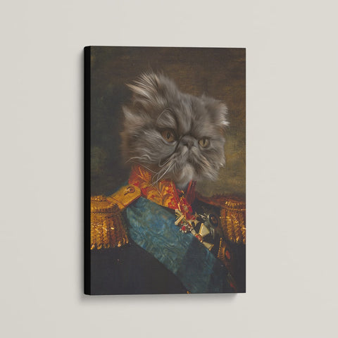 The General - Custom (Your Pet) Canvas Art
