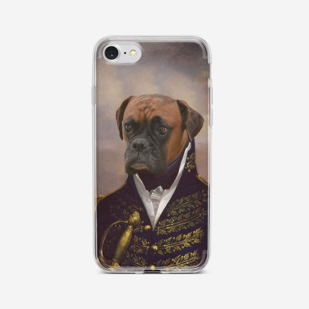 The Admiral - Custom (Your Pet) Phone Case