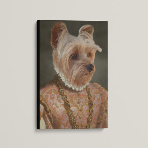 The Empress - Custom (Your Pet) Canvas Art